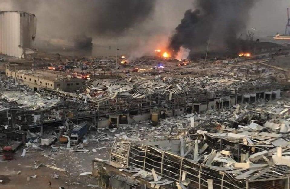 """Pastores relatam destruição em Beirute: """"Nem a guerra nos atingiu com tanta força"""""""