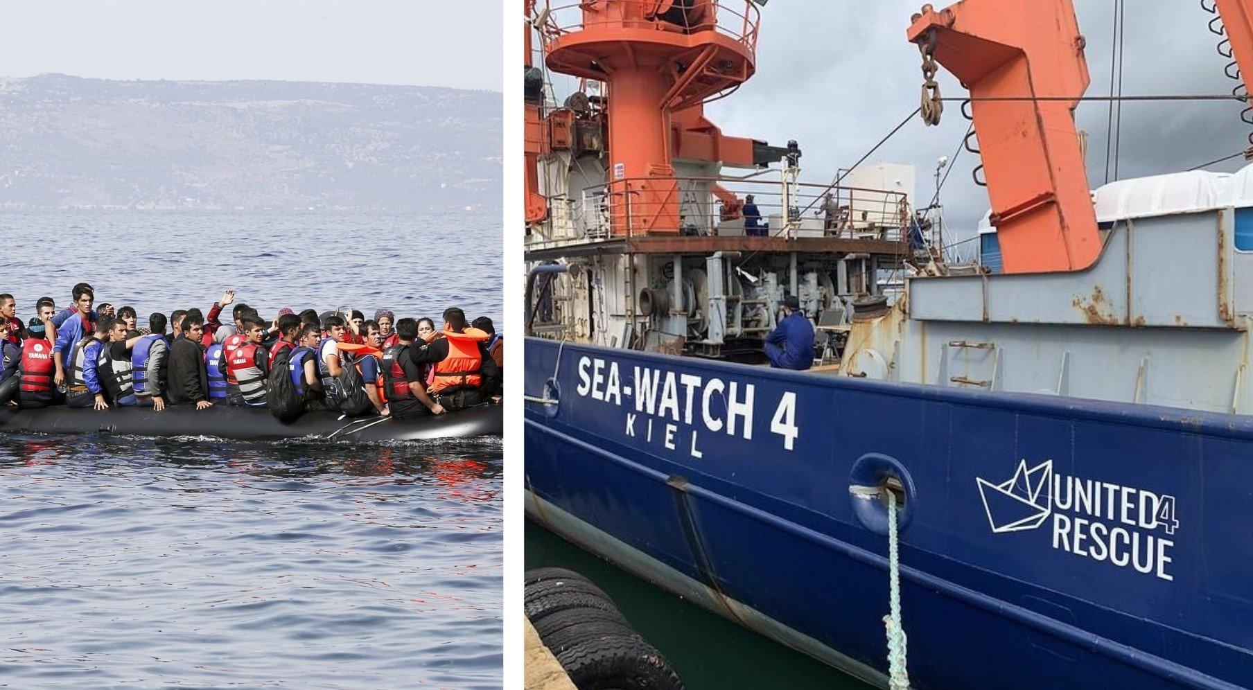 Igreja protestante alemã sai ao mar para resgatar imigrantes no Mediterrâneo