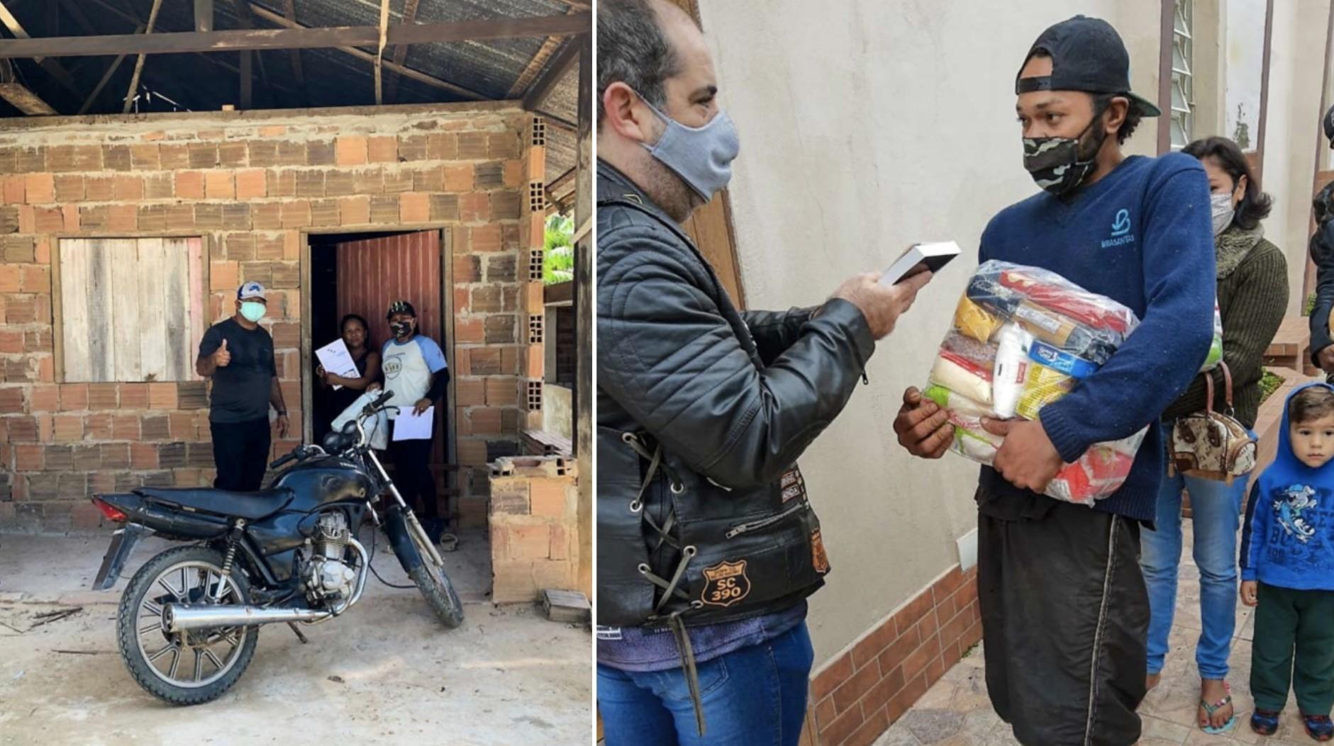 Bíblias e alimentos são entregues em favelas de SP por instituição cristã internacional