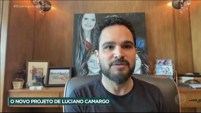 """""""Minha vontade de servir a Deus está fervendo"""", diz Luciano Camargo sobre trabalho gospel"""