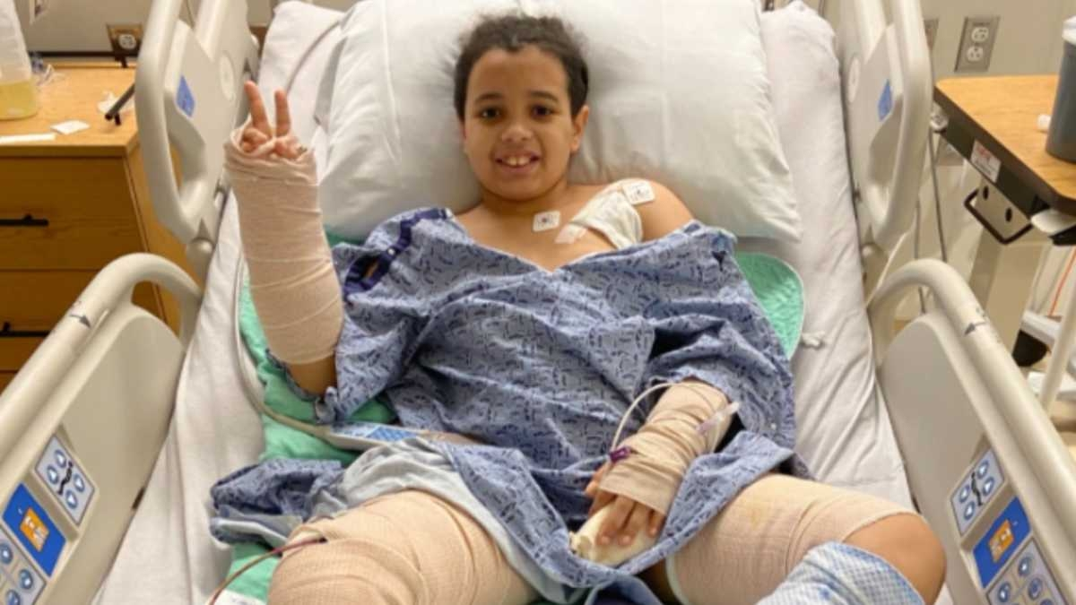 """""""Pedi a Jesus para me salvar"""", diz menino de 11 anos que sobreviveu a ataque de cachorro"""