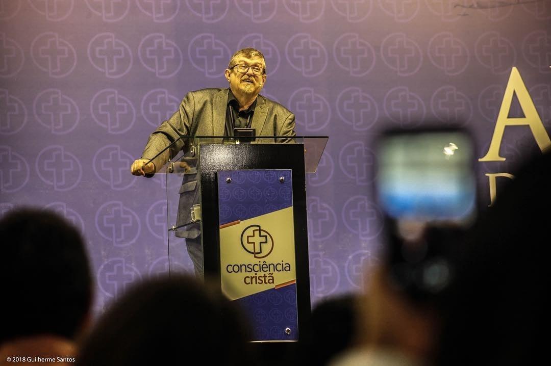 Luiz Sayão na 21ª edição da Consciência Cristã. (Foto: Guilherme Santos Fotografias)