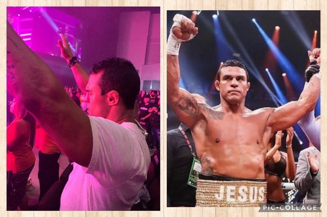 """""""Na vitória ou na derrota Deus sempre estará comigo"""", afirma Vitor Belfort"""