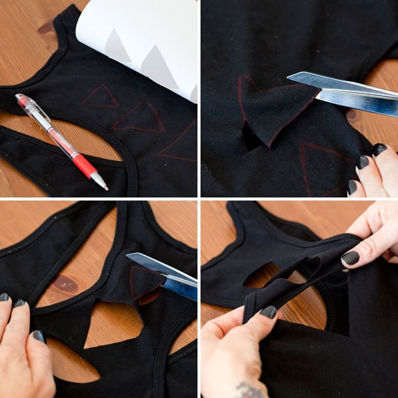 customizando blusa básica
