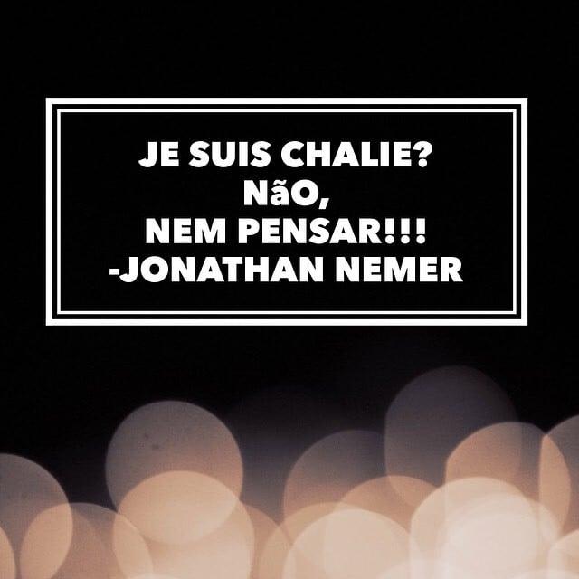 Charlie Hebdo por Jonathan Nemer