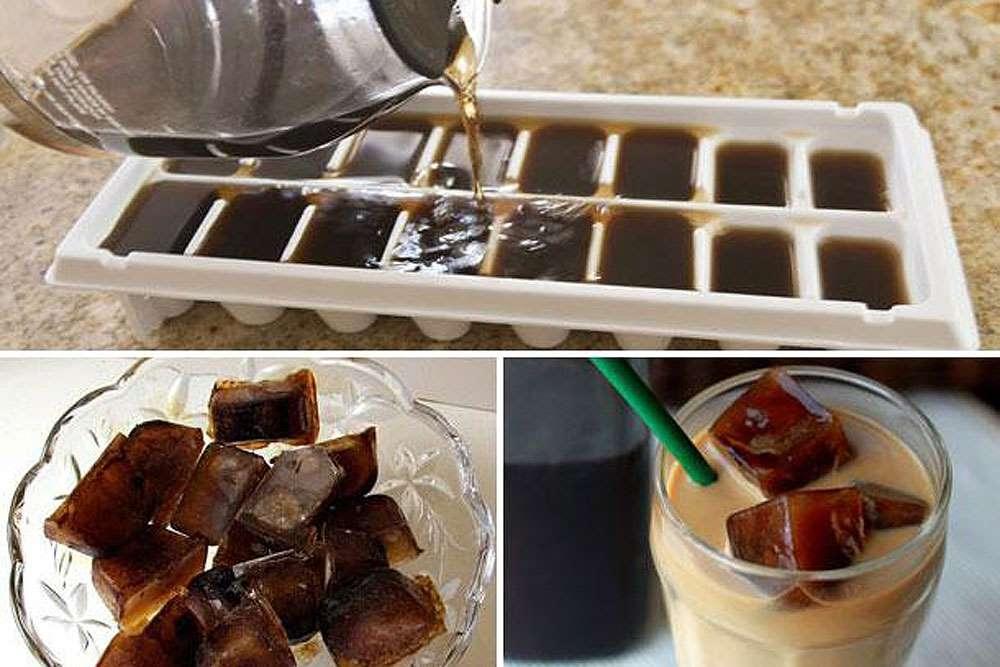 chá ou café gelado