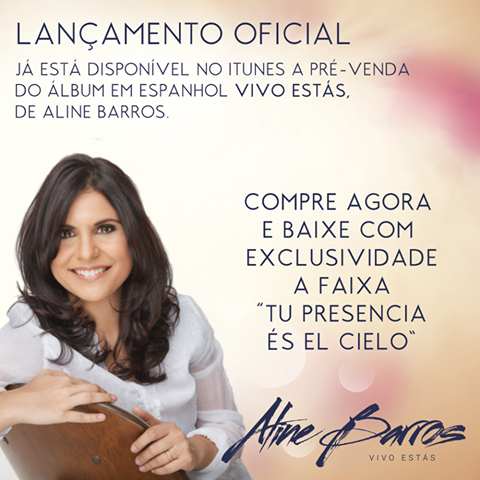Aline Barros no iTunes