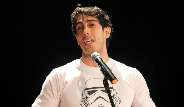 O humorista cristão Jonathan Nemer irá participar do 'Encontro', da TV Globo, nesta quarta-feira
