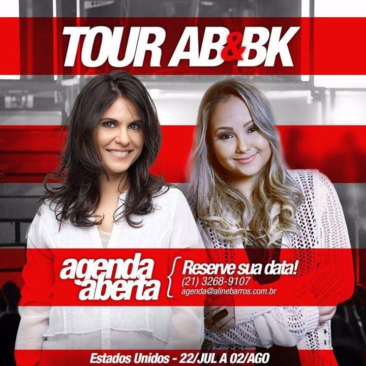 Aline Barros e Bruna Karla _ EUA