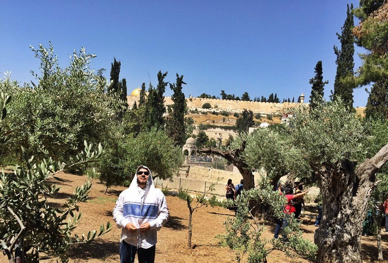 Diário de Viagem: Oração no Jardim do Getsêmani