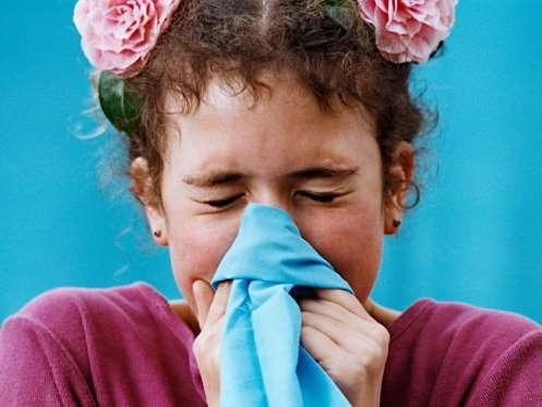 criança resfriada