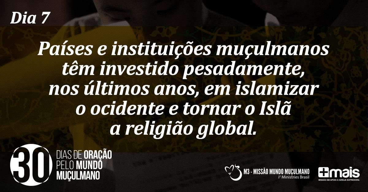 Campanha pelo mundo muçulmano