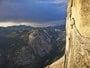 Montanha no Parque Nacional de Yosemite, Califórnia