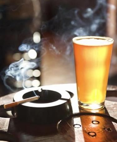 álcool e fumo
