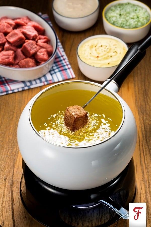 Molhos de fondue