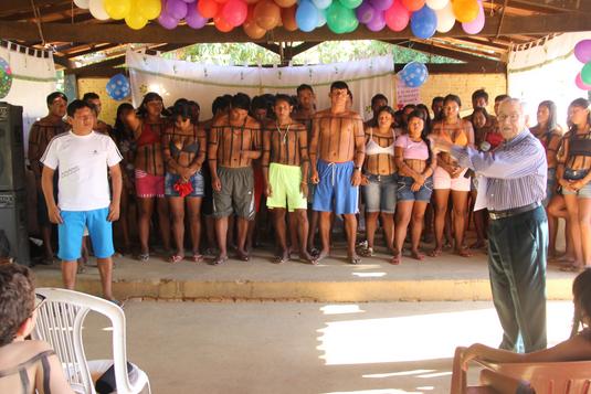 Batismo de indígenas em Tocantínia