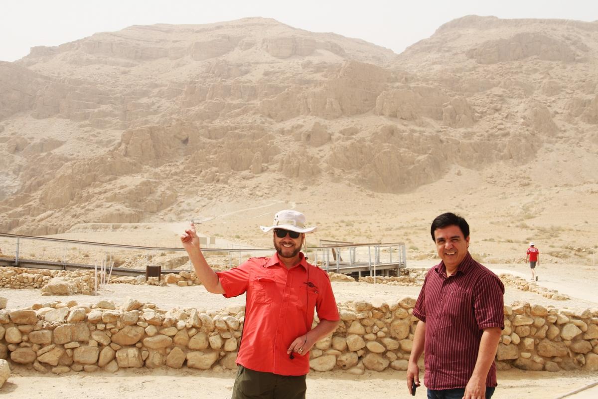 Guiame em Israel: Antigos pergaminhos do profeta Isaías são descobertos no Mar Morto