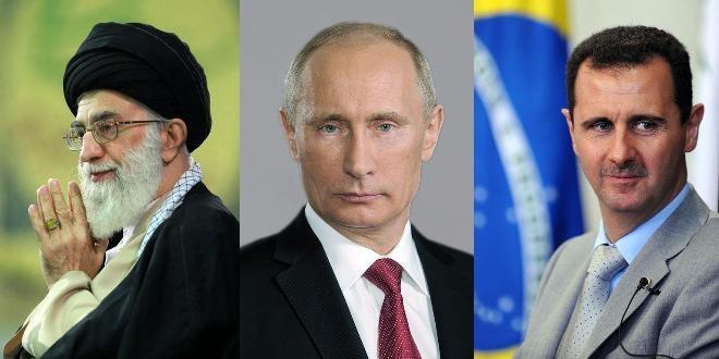 Resultado de imagem para irã, russia e siria