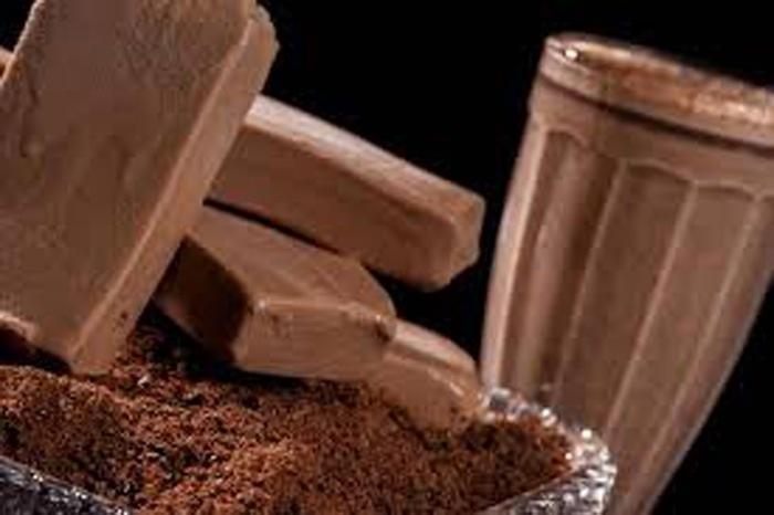 Picolé de chocolate caseiro