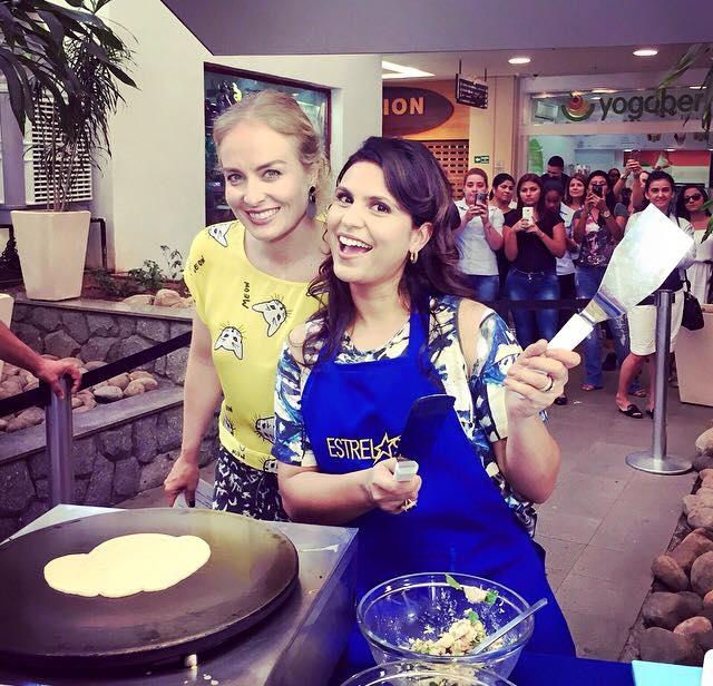 Angélica e Aline Barros no Estrelas