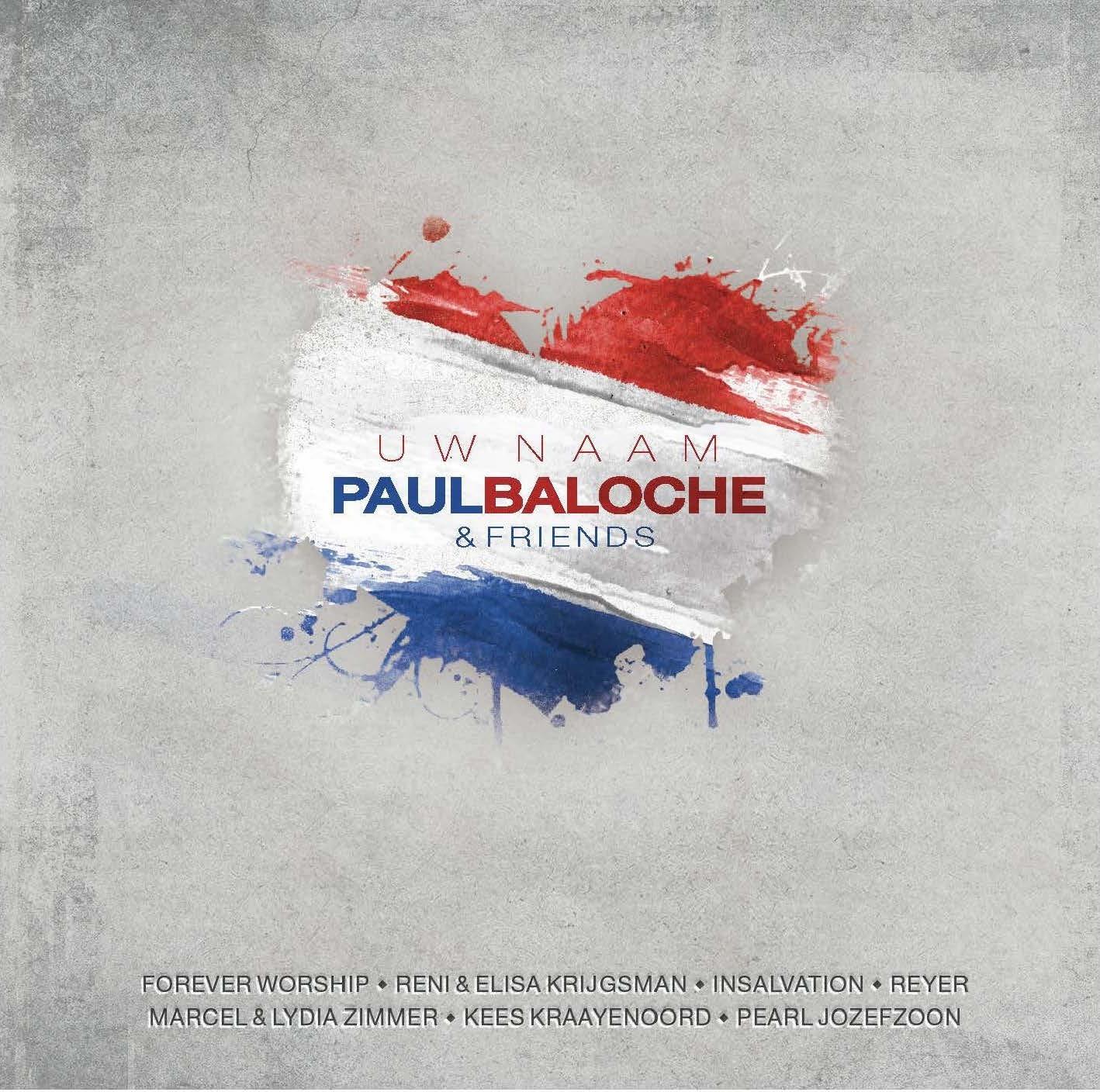 Capa do disco holandês de Paul Baloche, Uw Naam