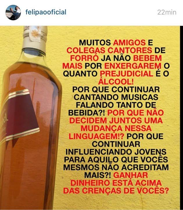 Post de Felipão no Instagram (Imagem: reprodução)