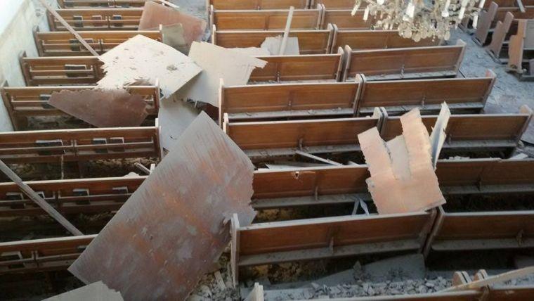 """Igreja """"Armenian Evangelical Emmanuel"""" sofre danos por ataque de bomba do Estado Islâmico"""