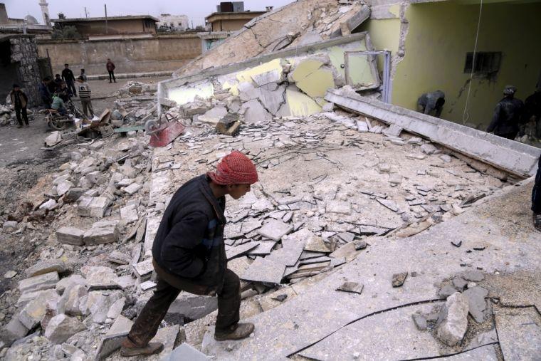 Ataque de bombas em Allepo