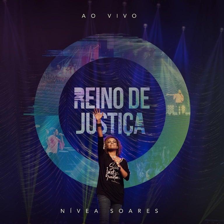 """Capa do disco """"Reino de Justiça"""" da cantora Nívea Soares. (Foto: Divulgação)."""