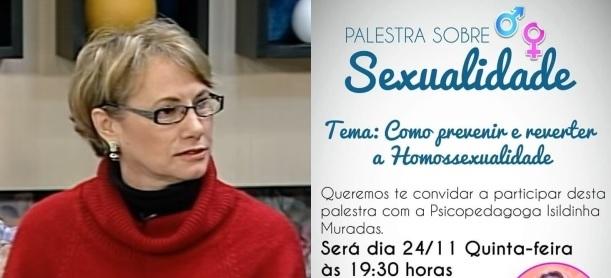 """Internautas protestam contra palestra 'homofóbica' e pastora esclarece: """"Meu papel não é julgar"""""""